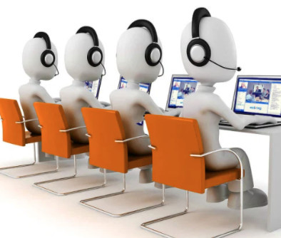 working in virtual call center company
