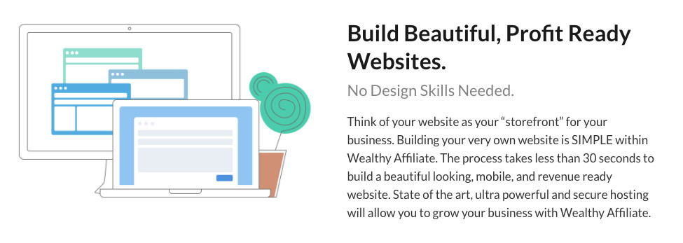 Build beautiful profit ready websites
