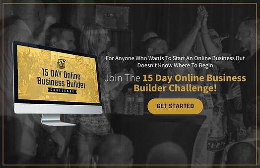 15 day online business builder by legendary Marketer