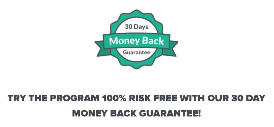 Money back guarantee of Authority Hacker