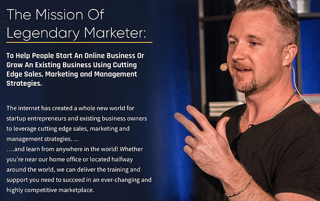 The mission of Legendary marketer