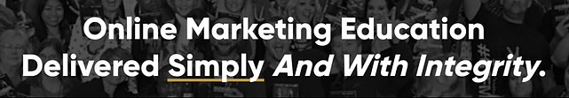 The tag line of legendary Marketer