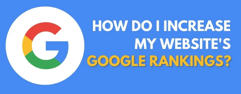 SEOptimization How do I increase my Google Rankings