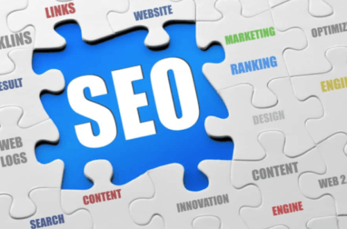 SEO factors jigsaw puzzle
