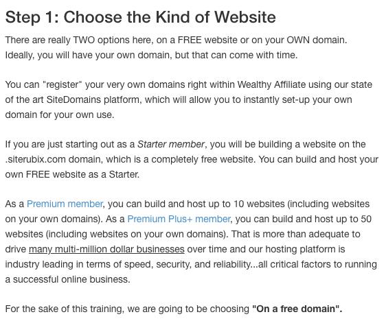 Building your website in 30 seconds