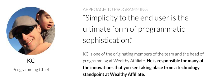 Wealthy Affiliate KC