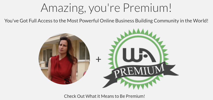 Aparna premium Wealthy Affiliate member banner