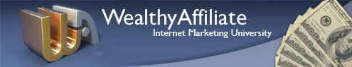 Wealthy affiliate university banner