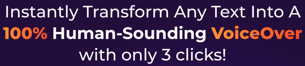 Sound like a human