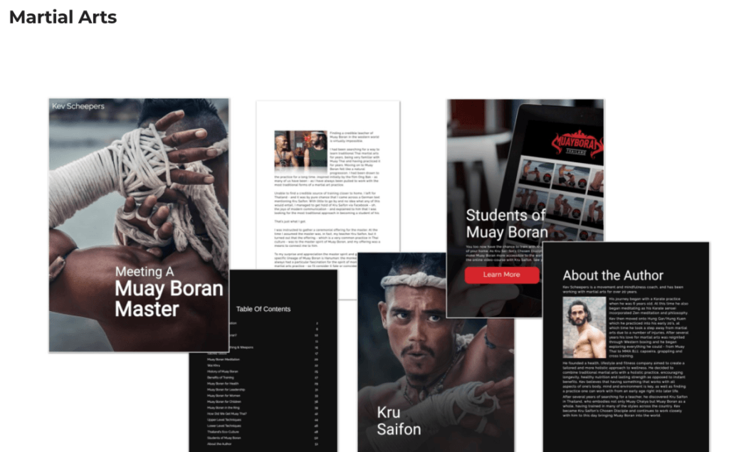 Samples of eBooks Created With Designrr