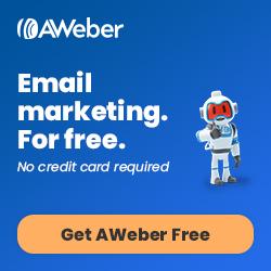 Aweber banner