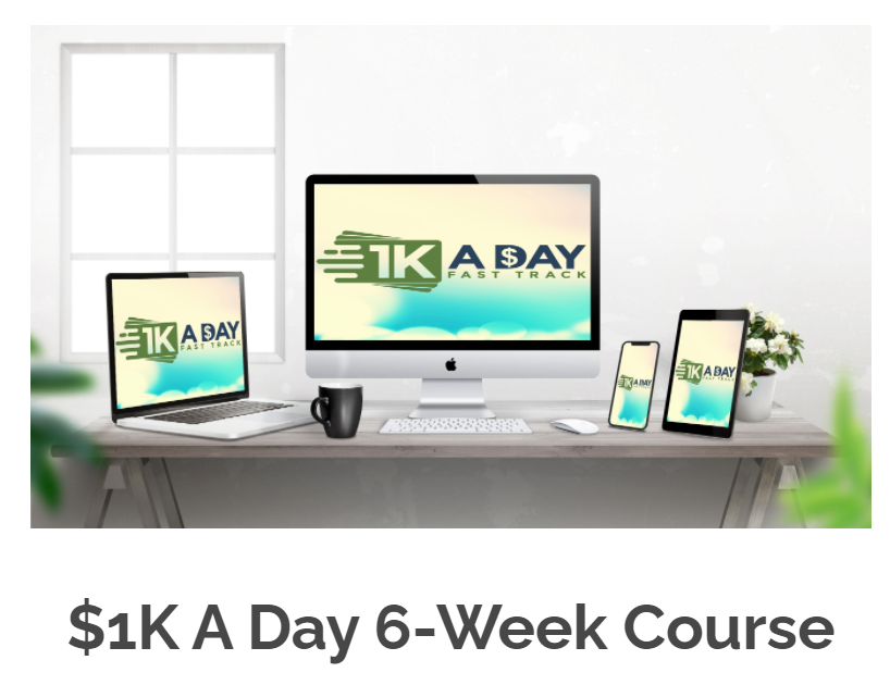 the 6 week course 1k a day