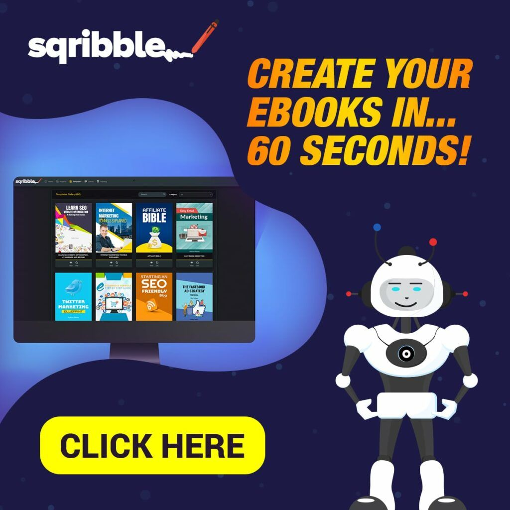 Create an eBook in 60 seconds