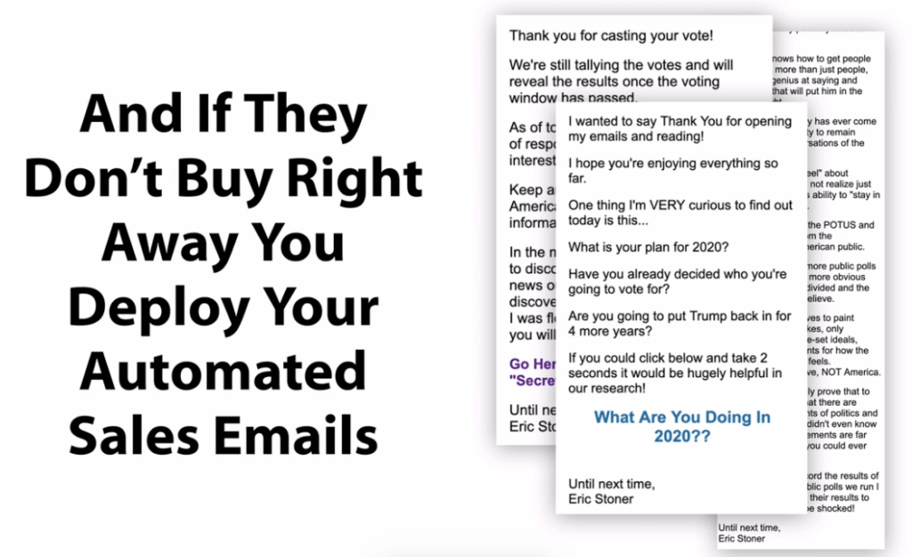automated email sequences to the kill