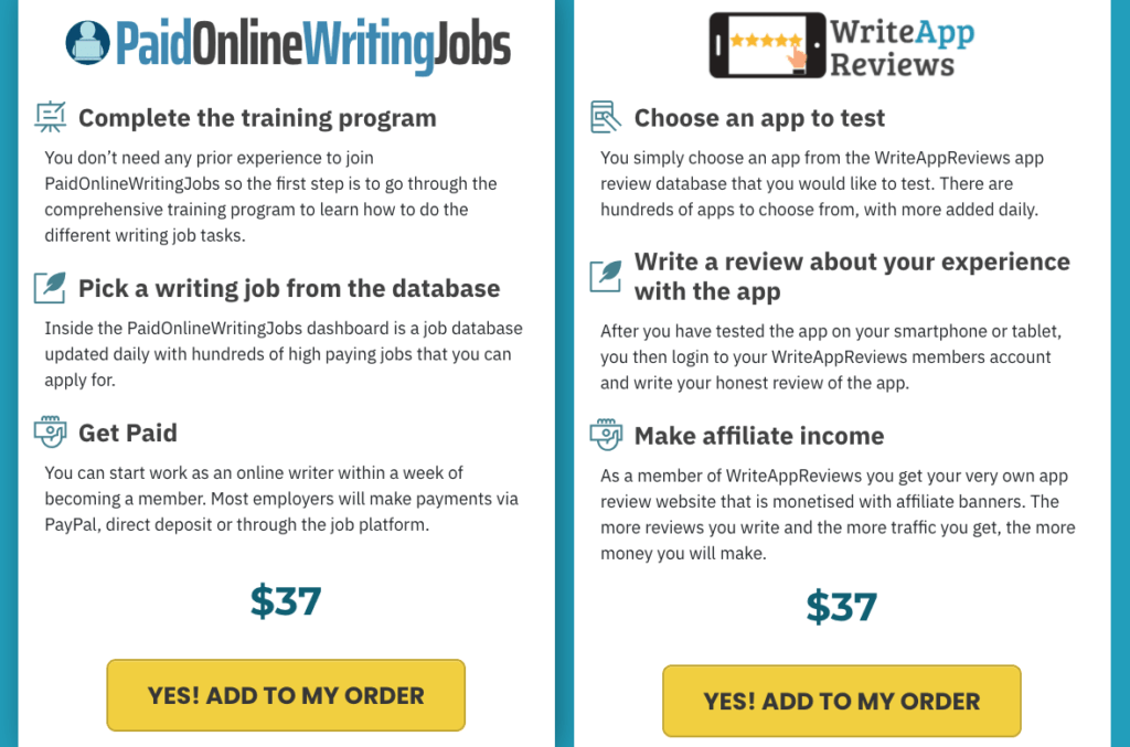 Upgrade No 2: Online Writing Jobs and Paid App Review Jobs ($57)