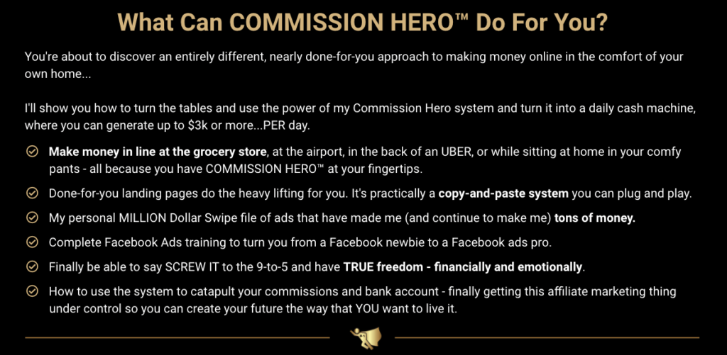 How to Make Money With Commission Hero?