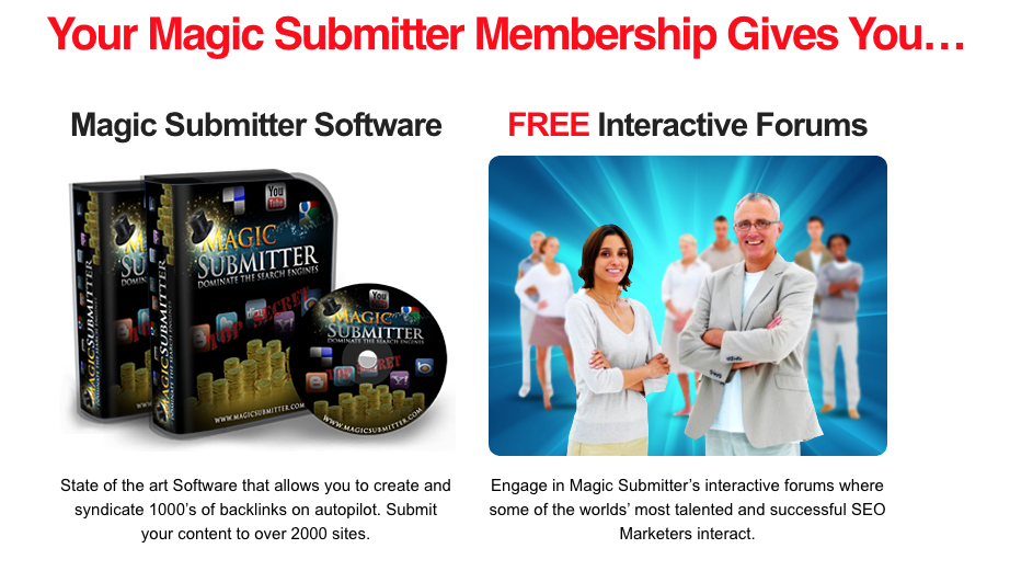 magic submitter submits to thousands of websites