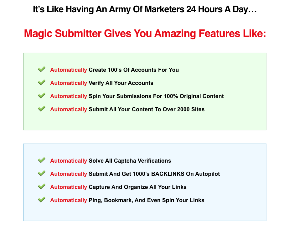 magic submitter gives you amazing features