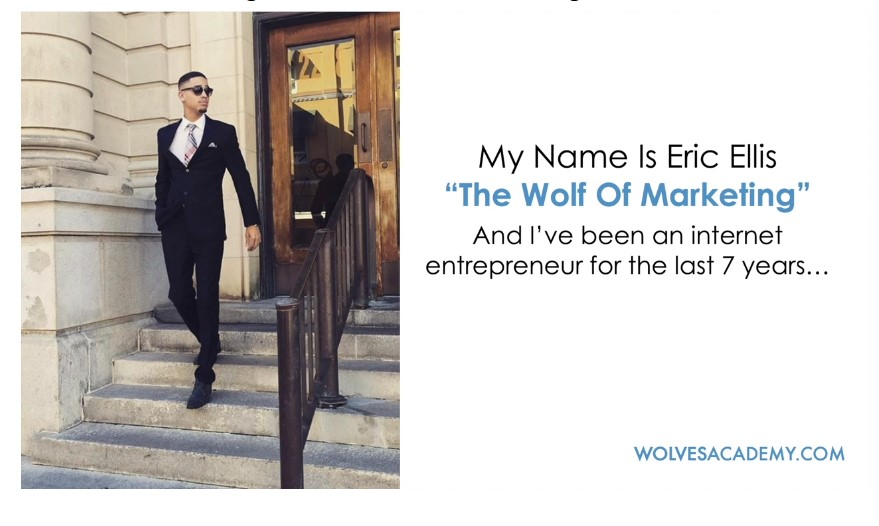 What is affiliate marketing about wolves academy wolfacademy eric ellis