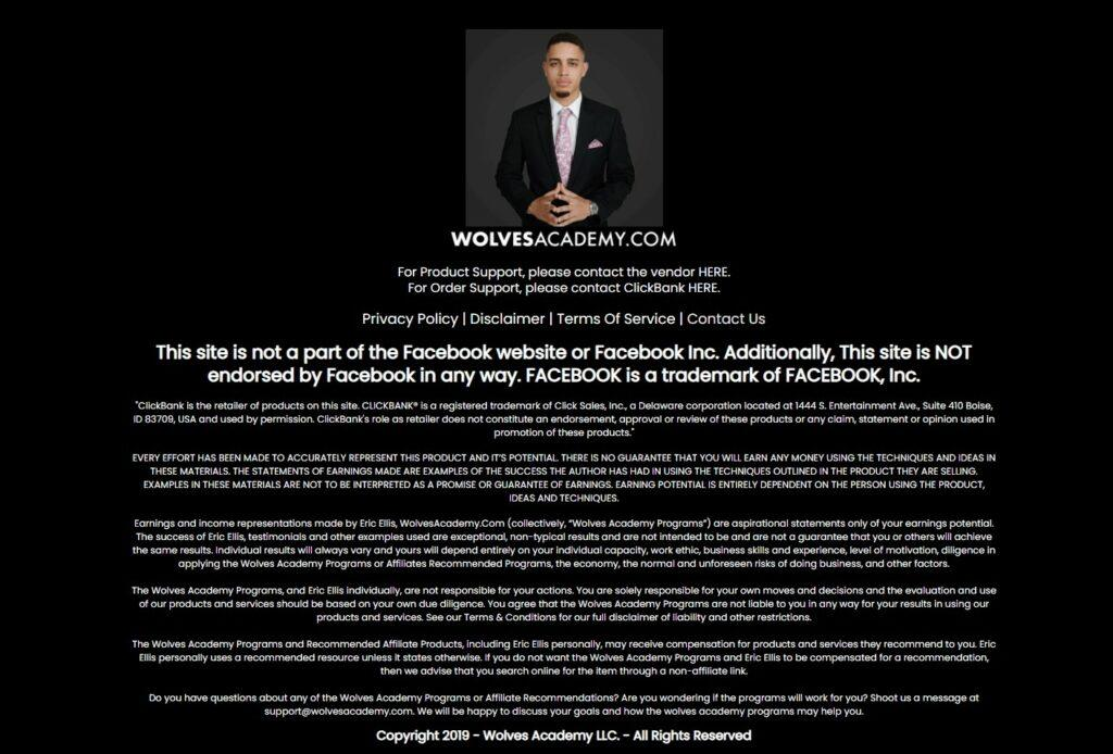 What is affiliate marketing online about? What are affiliate marketing programs about? Wolves academy review.