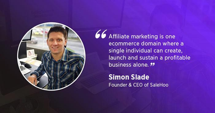 Simon Slade, Founder of SaleHoo