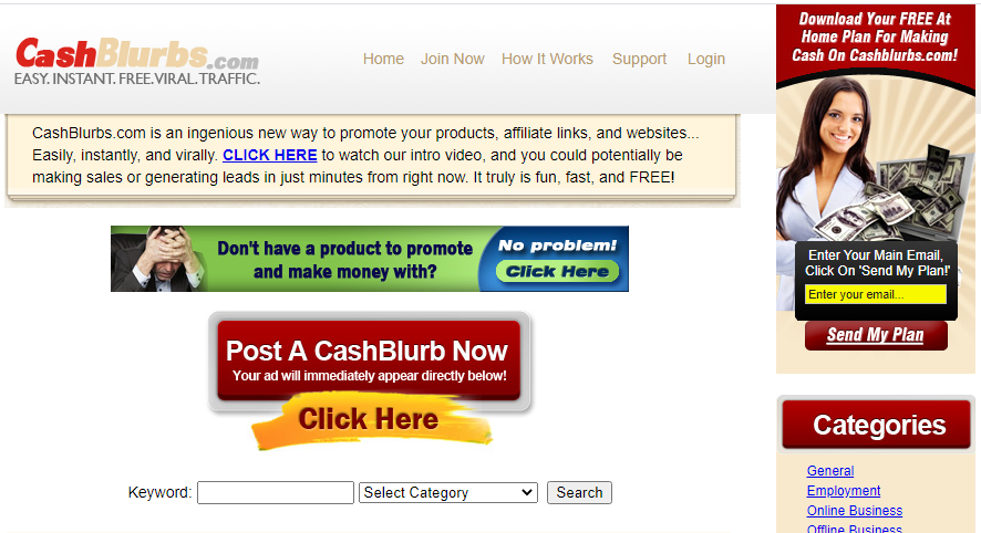what is cashblurbs about