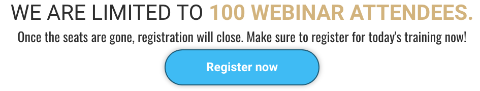 Commission Hero Only 100 webinar seats