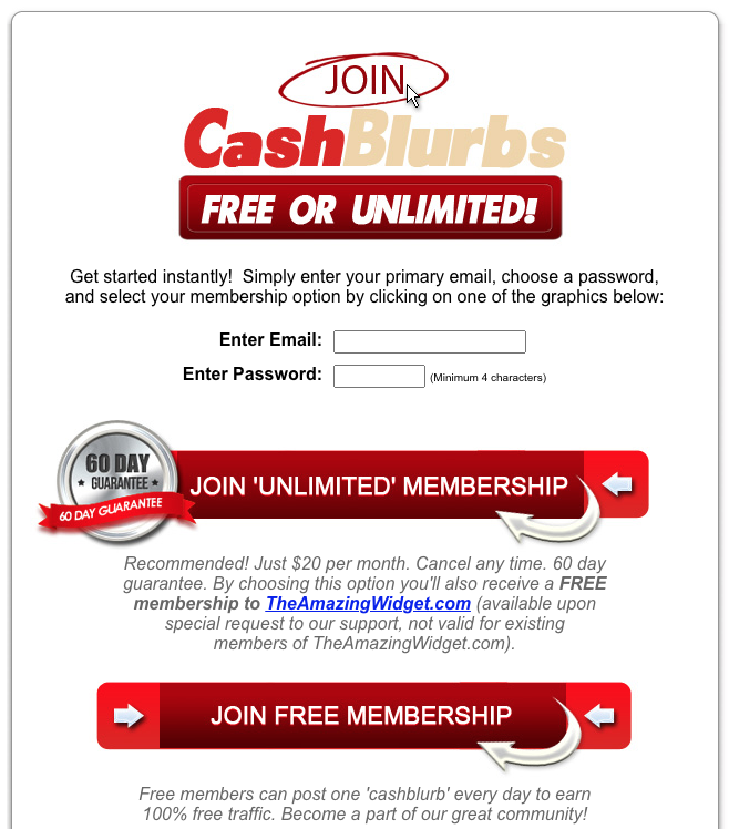 What is CashBlurbs How to join