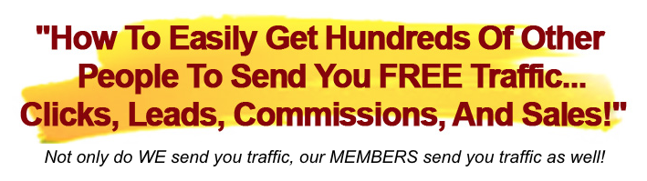 What is CashBlurbs about THE FREE TRAFFIC SYSTEM