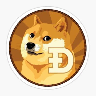 Dogecoin DOGE logo make-cash-online.com