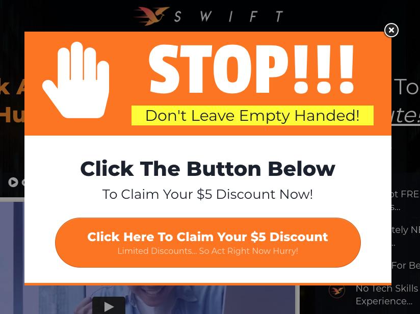 SWIFT $5 Discount