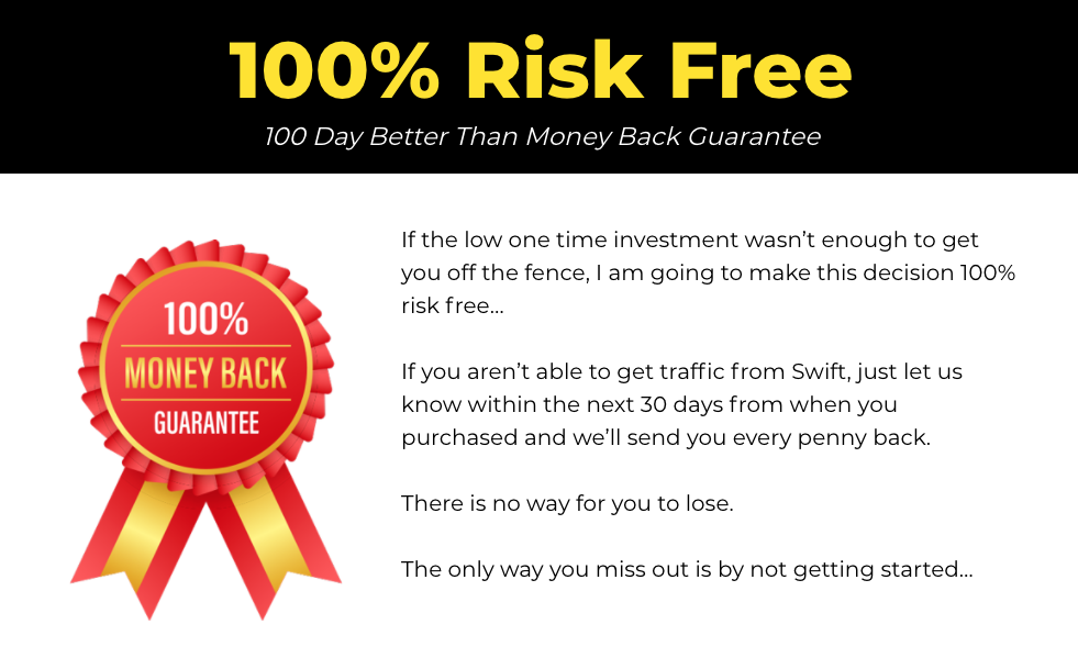 The Swift Guarantee