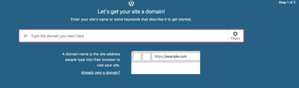 wordpress sign in page