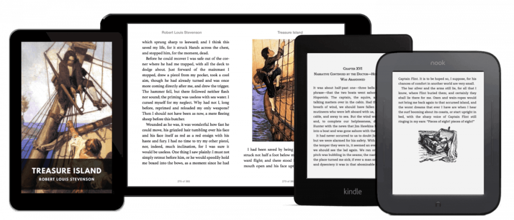 treasure island on ebook
