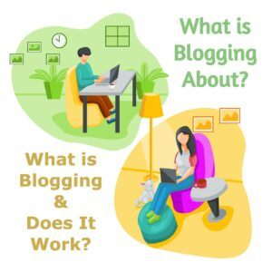 what is blogging about
